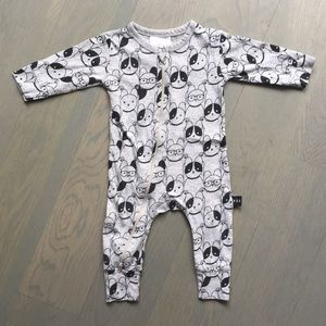 huxbaby One Pieces - Huxbaby baby boy onesie 3-6months